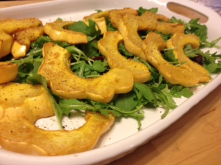 acorn squash salad 2