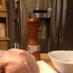 chicken, salt