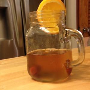 Mason jar old-fashioned