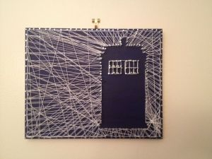 Dr Who string art