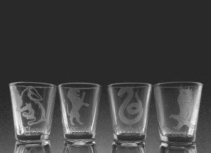 harry potter shot glasses