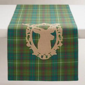 stag table runner
