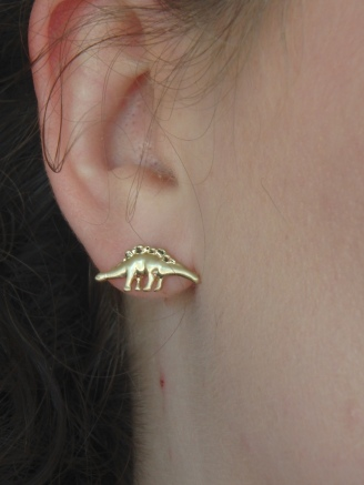 Francesca dinosaur earrings