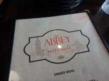 Abbey Restaurant, London, KY menu