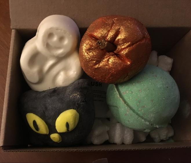 lush halloween haul